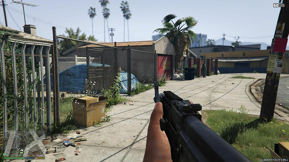 First-Person Field of View Mod v 1.1 для GTA 5