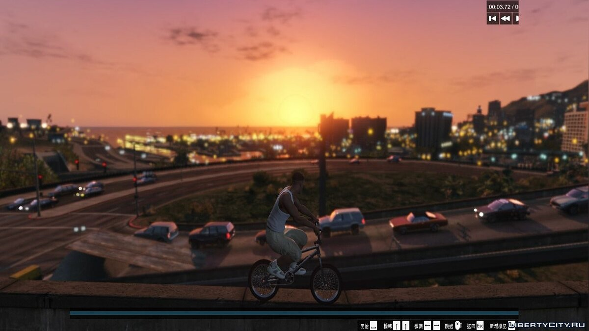 Realistic pedestrians and traffic mod V2.3 для GTA 5 - скриншот #3