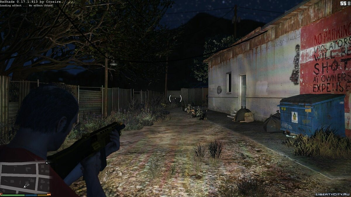 Long Range Flashlight 1.1 для GTA 5