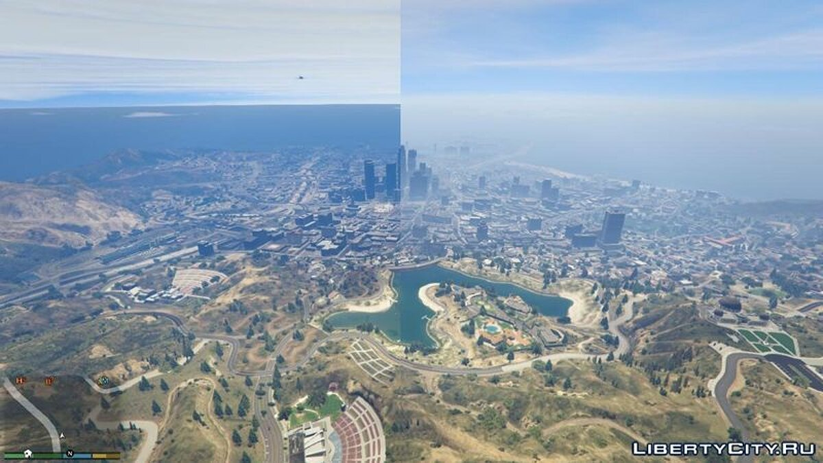 Realistic Draw Distance для GTA 5