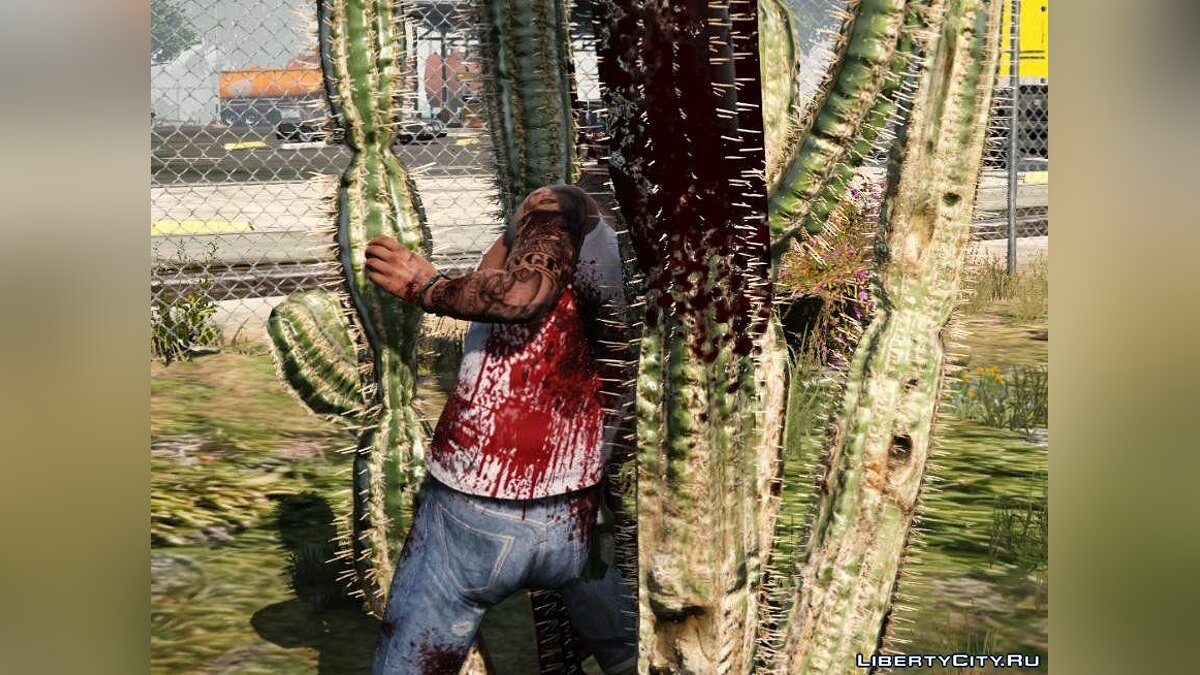 Raider's Blood, Violence, Melee & Destruction Overhaul 4.1 для GTA 5 - скриншот #5