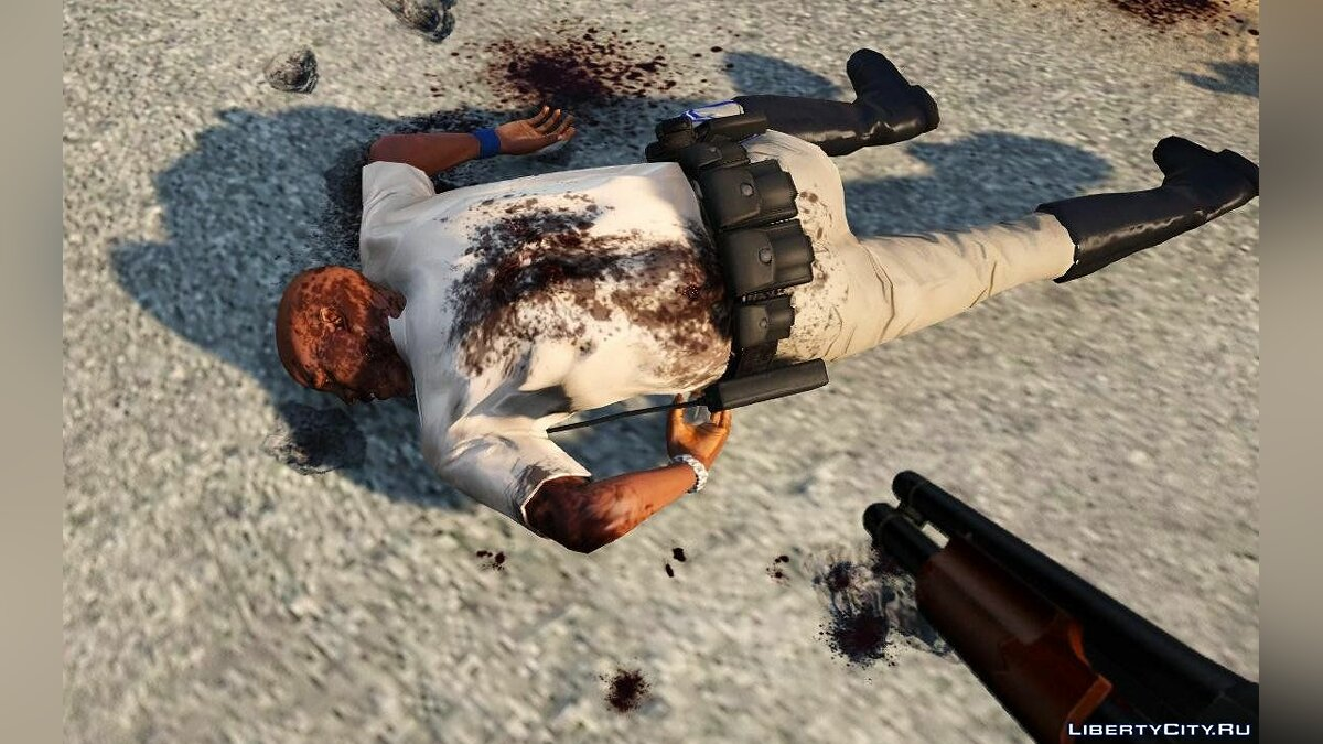 Raider's Blood, Violence, Melee & Destruction Overhaul 4.1 для GTA 5 - скриншот #6