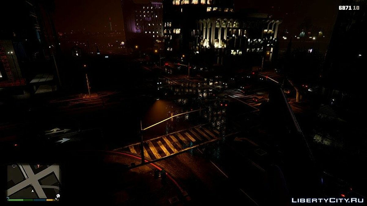 Темная ночь / Darker Nights для GTA 5