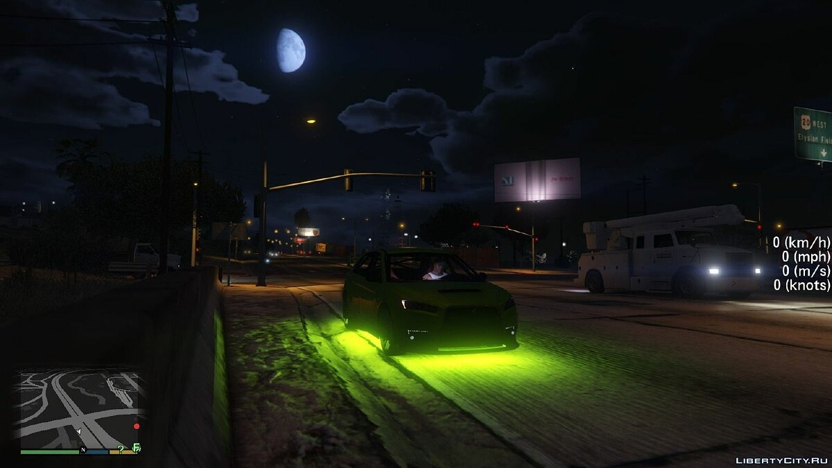 Bright Vehicle Lights для GTA 5