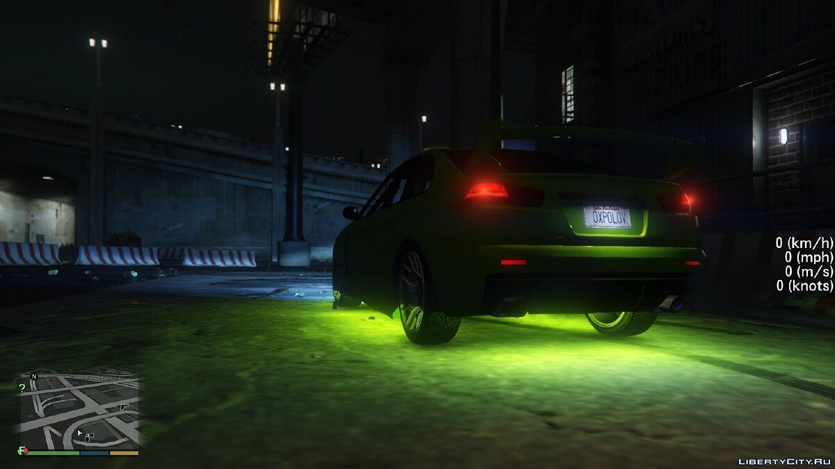 Bright Vehicle Lights для GTA 5 - скриншот #5