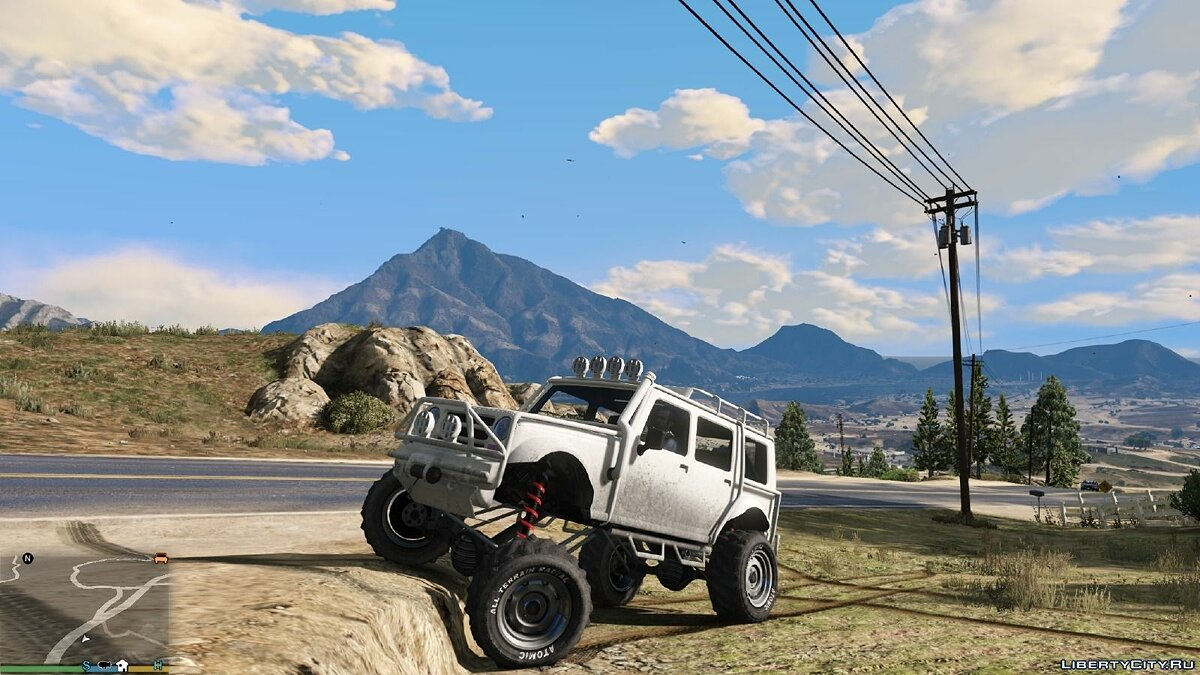 Off-Road and Main Character Vehicle Handling Suspension/Speed/ Real Deformation 1.0 для GTA 5