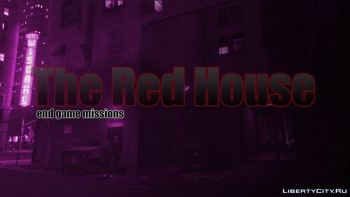 Новая миссия The Red House (new heists and missions) 3.1 для GTA 5