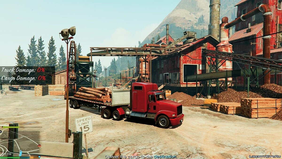 Custom Trucking Missions Pack 1.1 для GTA 5 - скриншот #3
