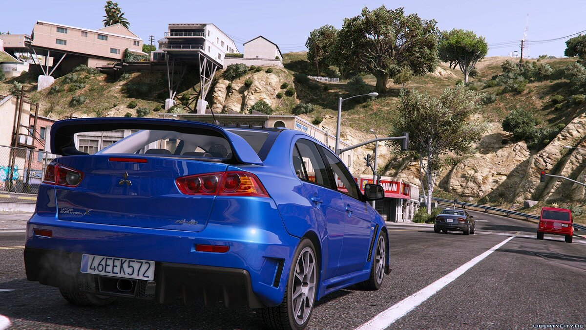 Mitsubishi Lancer Evolution X FQ-400 [Add-On | OIV | Tuning] 1.0 для GTA 5 - скриншот #2