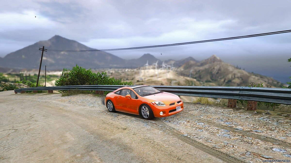 Mitsubishi Eclipse 2006 [Add-On / Replace] для GTA 5