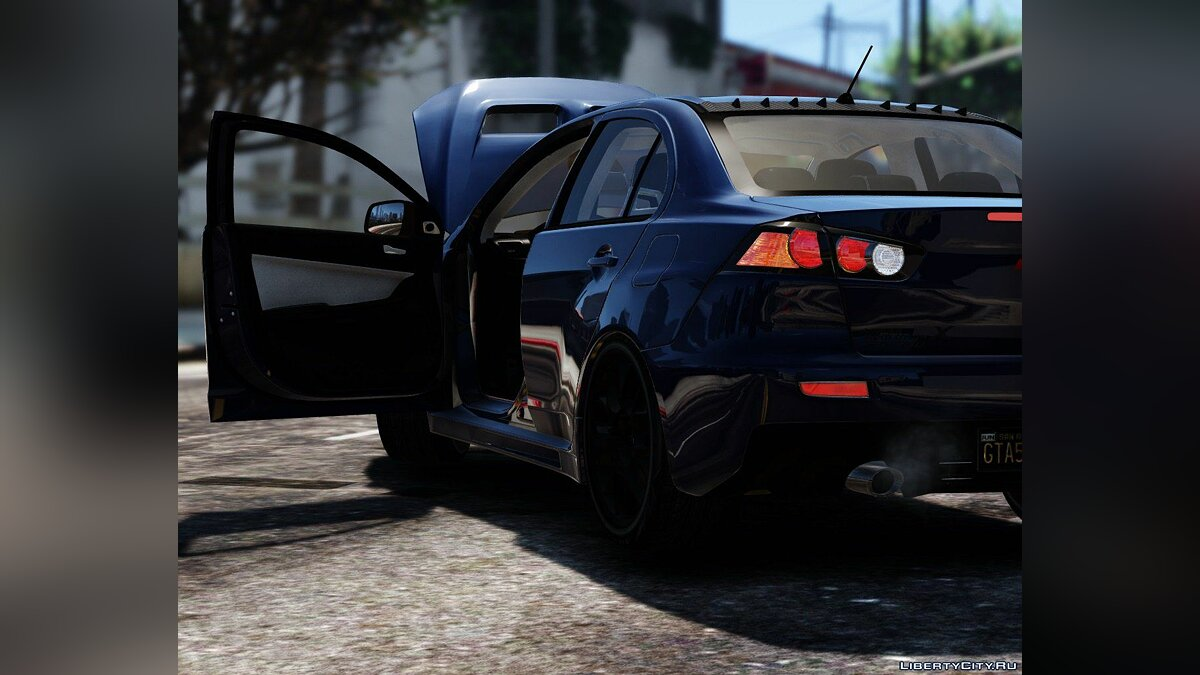2016 Mitsubishi Lancer Evolution X [Add-On / Replace | HQ] 1.0 для GTA 5 - скриншот #2