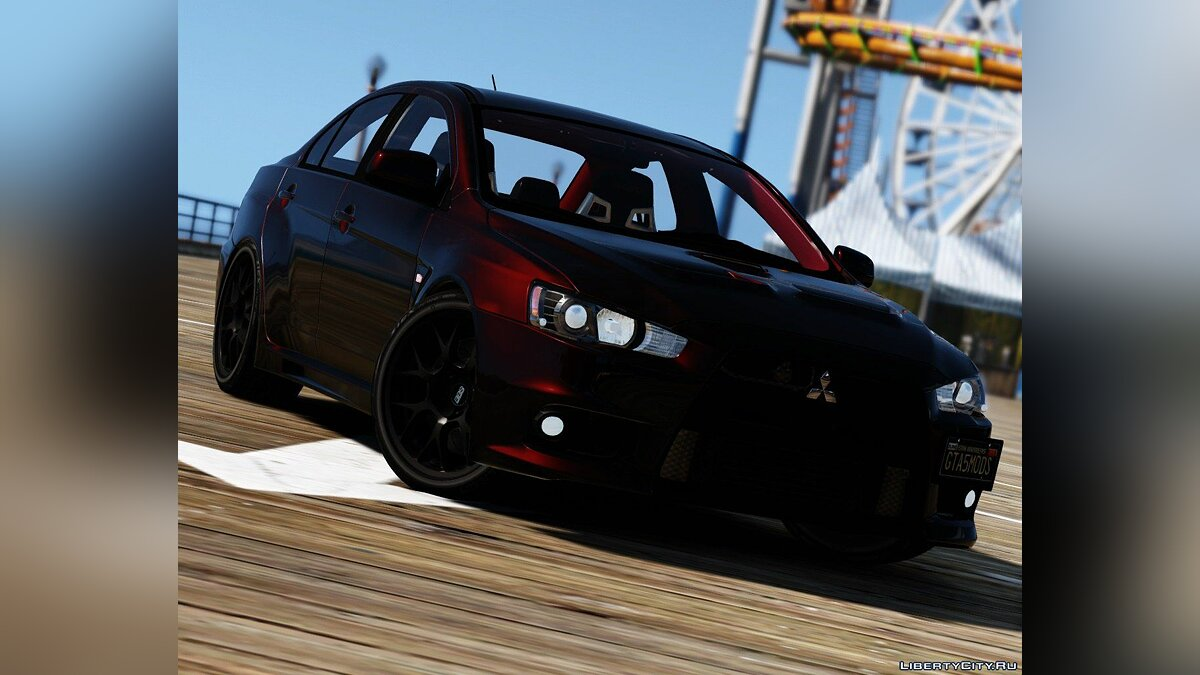 2016 Mitsubishi Lancer Evolution X [Add-On / Replace | HQ] 1.0 для GTA 5 - скриншот #6