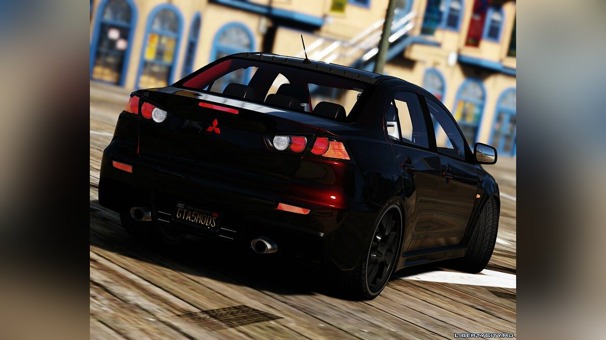 2016 Mitsubishi Lancer Evolution X [Add-On / Replace | HQ] 1.0 для GTA 5 - скриншот #8