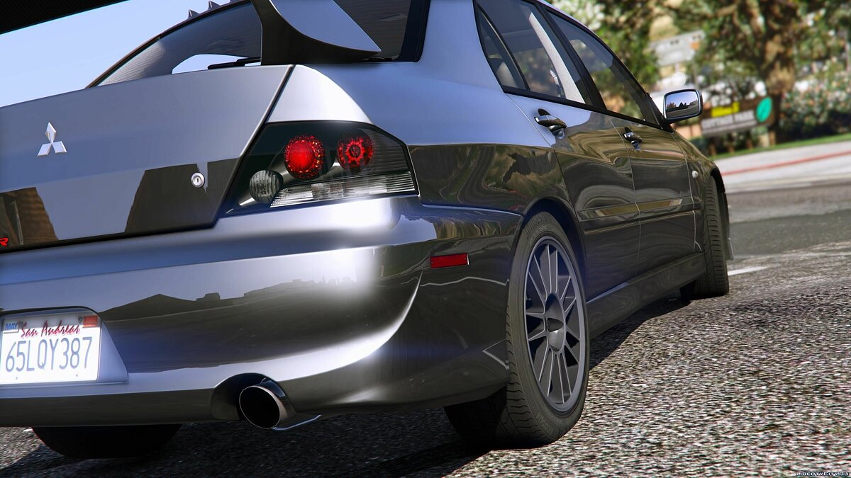 Mitsubishi Lancer Evolution IX MR [Add-On] для GTA 5 - скриншот #3