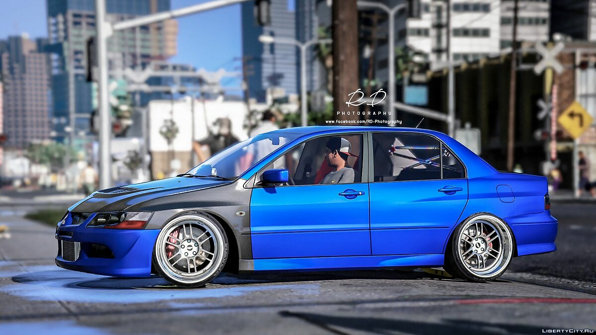 Mitsubishi Lancer EVO 8 [Add-On] 1.0 для GTA 5 - скриншот #2