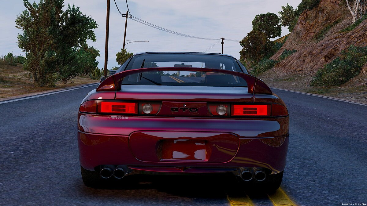 1997 Mitsubishi GTO [Add-On] 1.0 для GTA 5 - скриншот #3