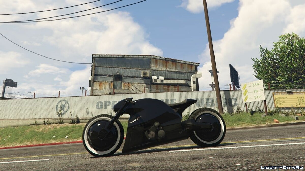 Shotaro swingarm fix [Replace] 1.0 для GTA 5