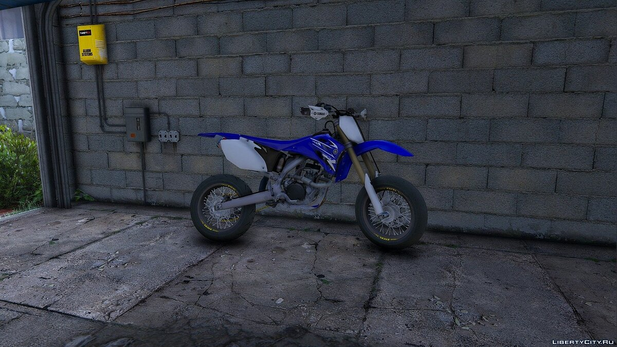 2009 Yamaha YZF250 - Supermotard [Add-On] 1.0 для GTA 5
