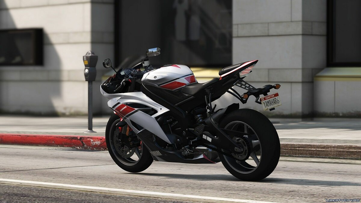 ��отоцикл Yamaha YZF-R6 [Add-On] 1.0 для GTA 5