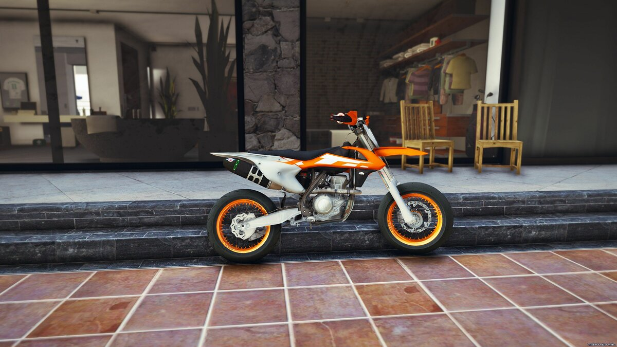 2016 KTM SX-F 450 Supermotard [Add-On] 1.0 для GTA 5
