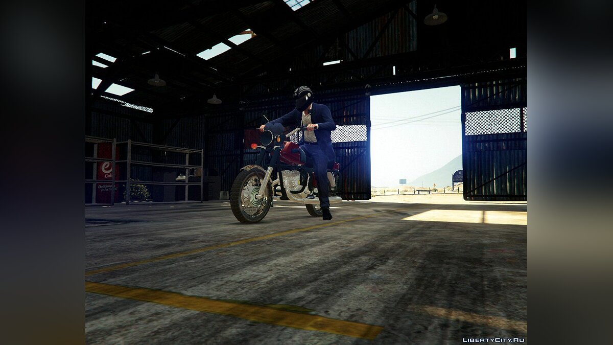 IZH Jupiter 5 [Add-On] 0.1 для GTA 5