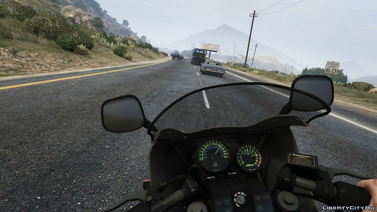 Kawasaki GPz1100 [Add-On] v1.2 для GTA 5 - скриншот #3