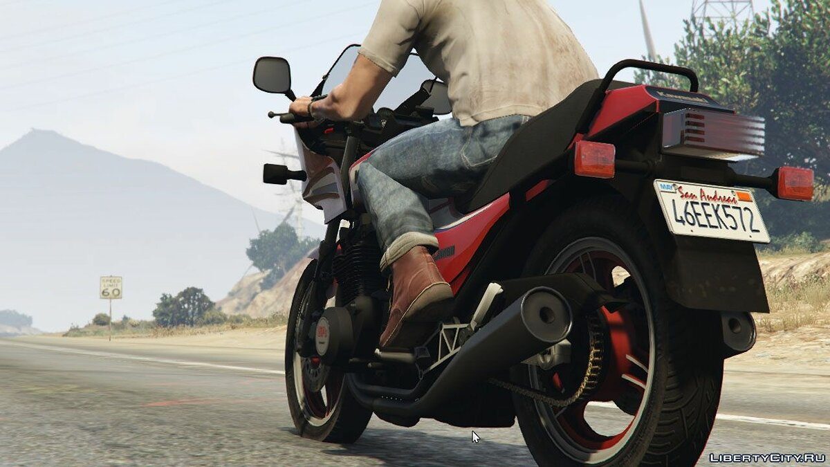 Kawasaki GPz1100 [Add-On] v1.2 для GTA 5 - скриншот #6