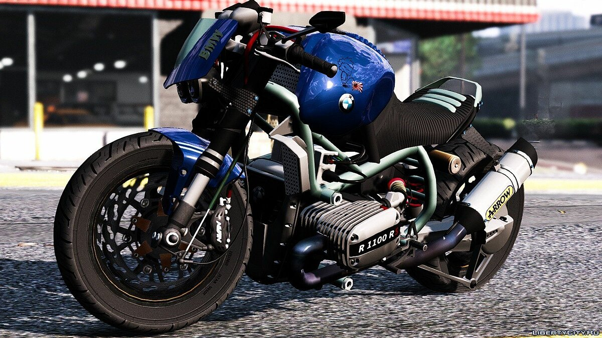 BMW R 1100R Street Fighter [Add-On / Replace | Animated] 2.0 для GTA 5