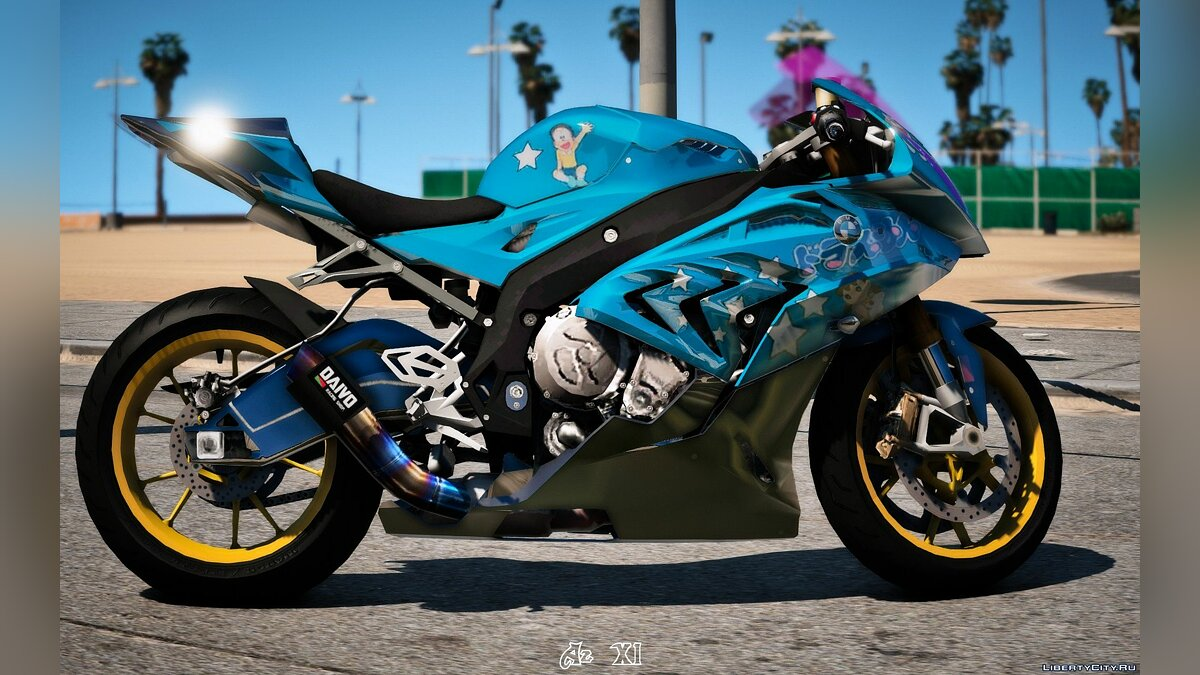 Мотоцикл BMW S1000RR 2016 Doremon Edition [Add-On] BETA для GTA 5
