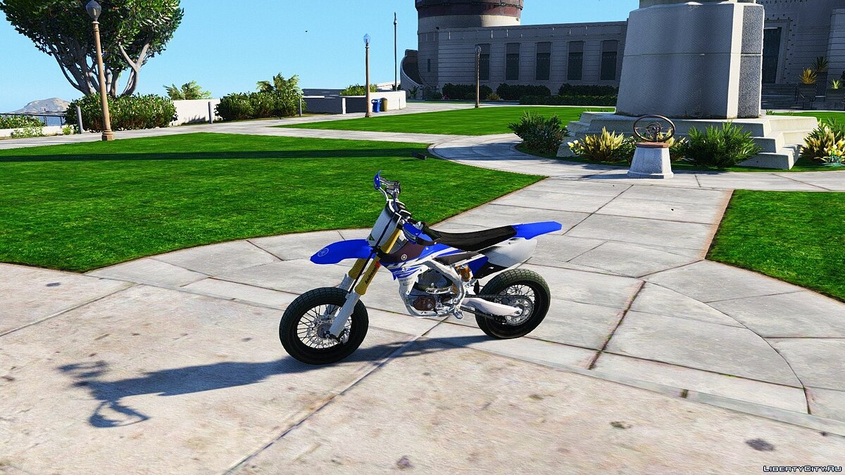 Yamaha YZ450F - Supermoto with Liveries (PSD Template) [Add-On] для GTA 5