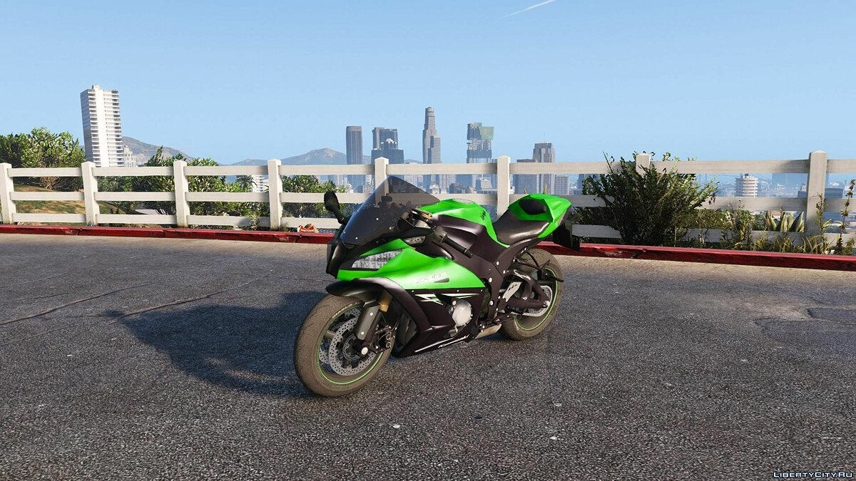 Kawasaki Ninja ZX10 R 2014 [Add-On Tunable] для GTA 5