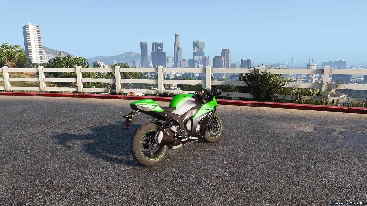 Kawasaki Ninja ZX10 R 2014 [Add-On Tunable] для GTA 5 - скриншот #2
