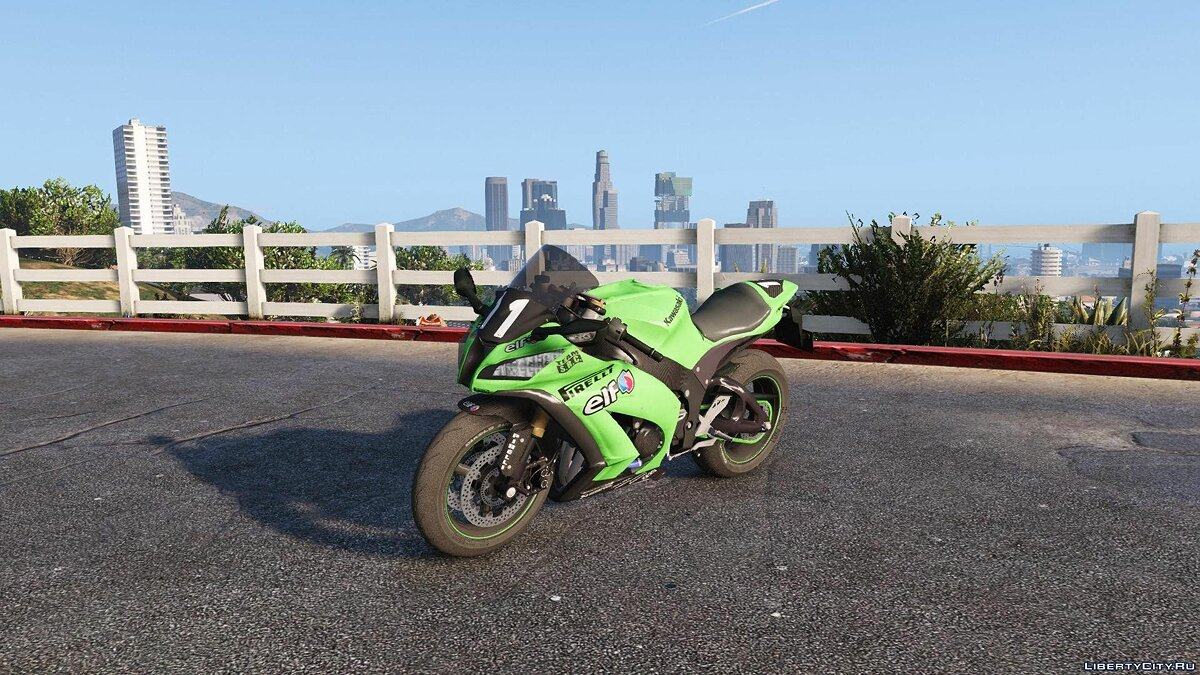 Kawasaki Ninja ZX10 R 2014 [Add-On Tunable] для GTA 5 - скриншот #4