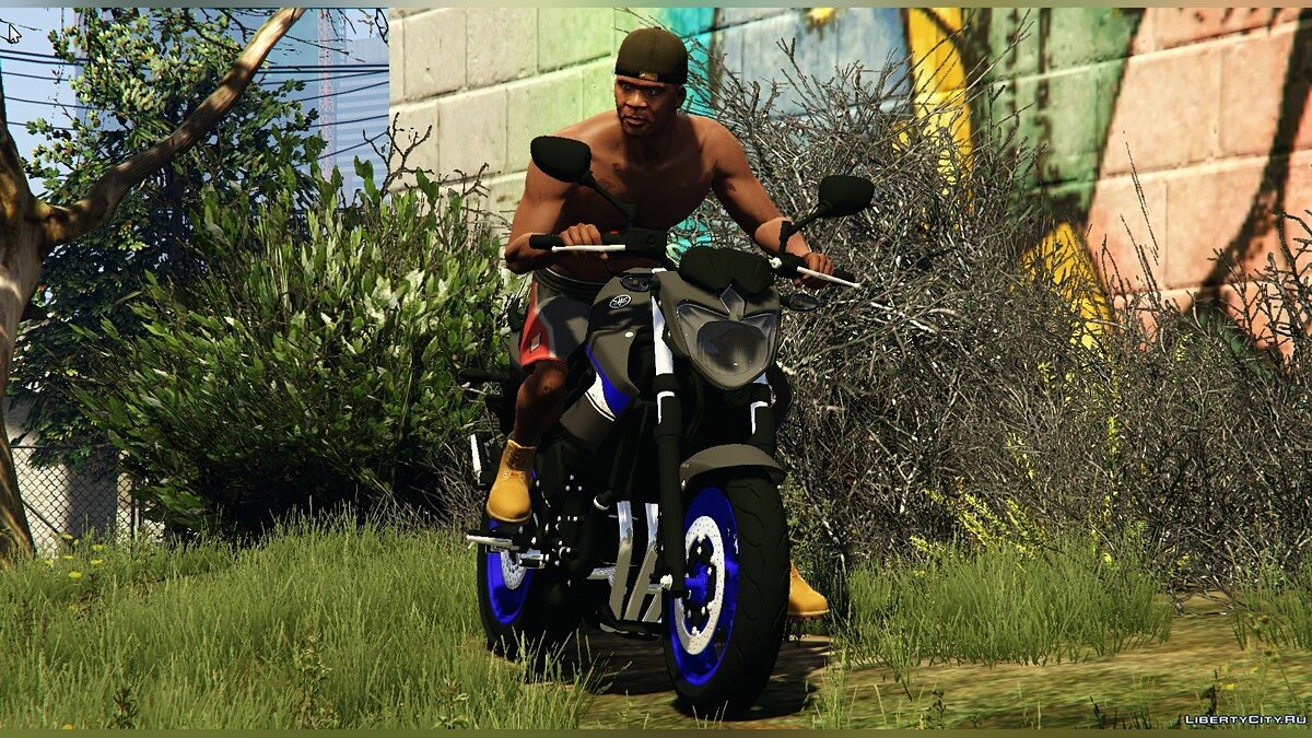 Yamaha XJ6N Racing Blue 2014 1.0 для GTA 5 - скриншот #2