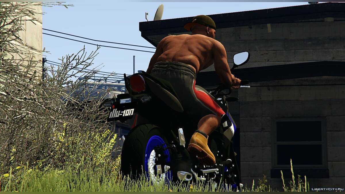 Yamaha XJ6N Racing Blue 2014 1.0 для GTA 5 - скриншот #3