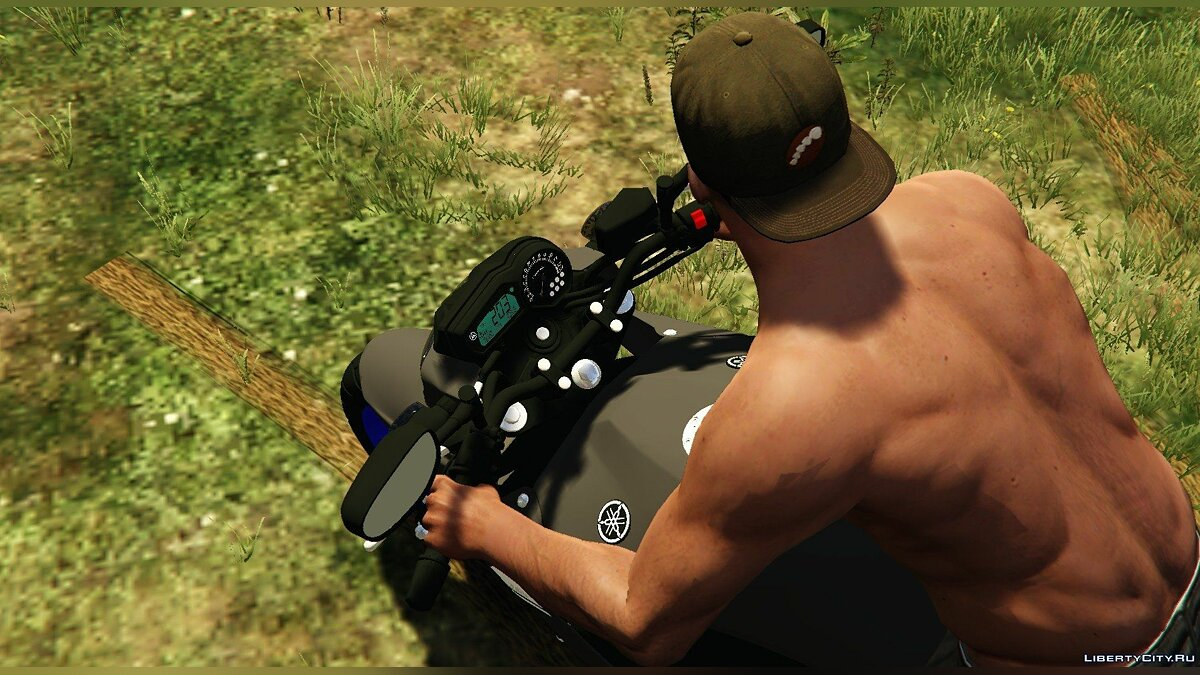 Yamaha XJ6N Racing Blue 2014 1.0 для GTA 5 - скриншот #4