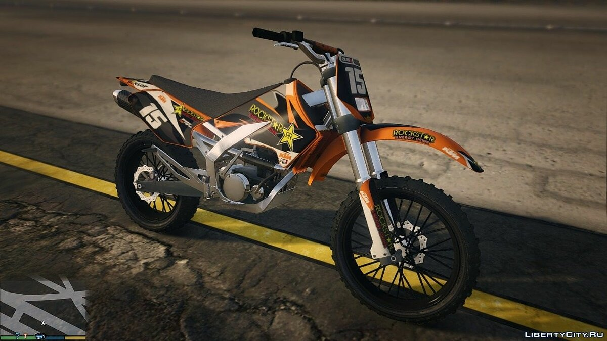 Sanchez KTM Rockstar Kit 0.1 для GTA 5 - скриншот #2