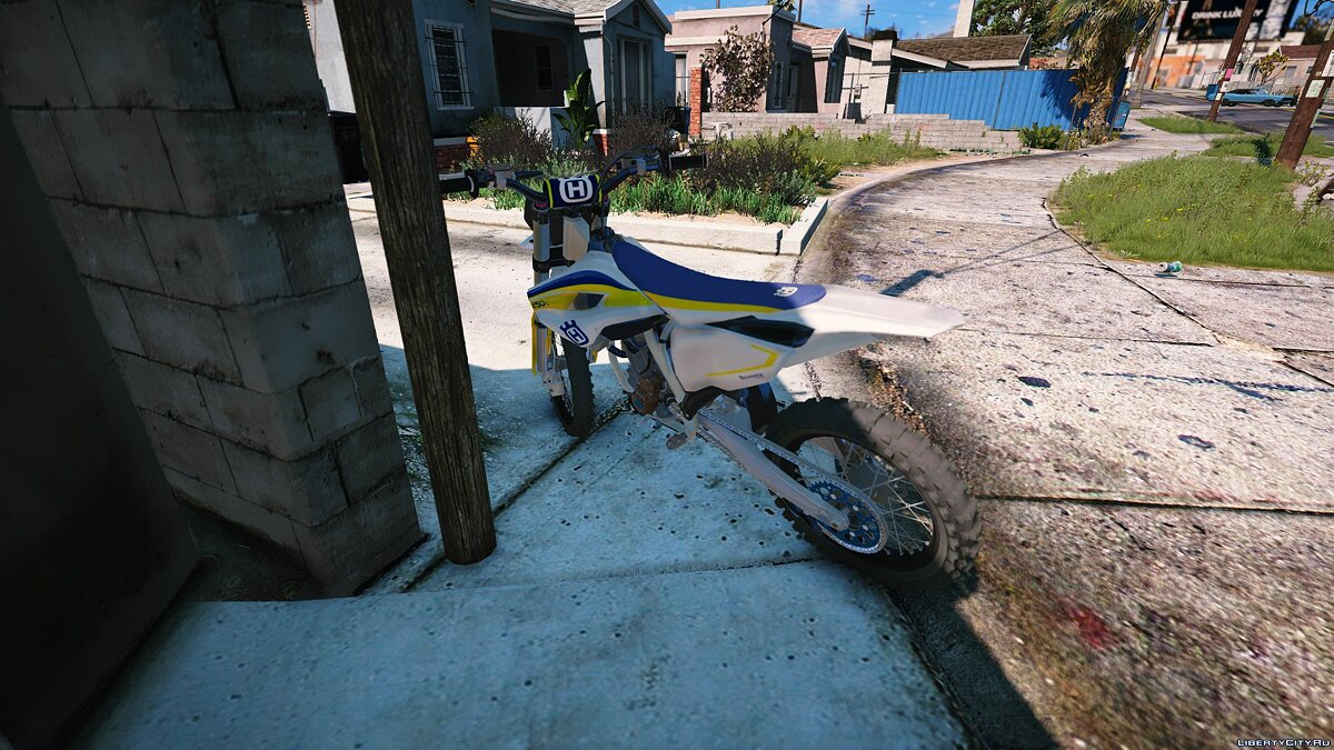 2015 Husqvarna FC 250 [Add-On] для GTA 5 - скриншот #5
