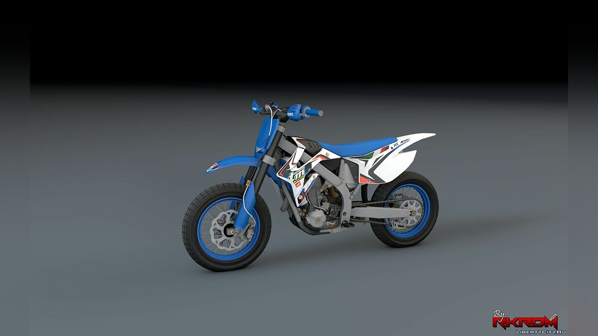 TM 450 FI - Supermoto [Add-On / Replace] для GTA 5