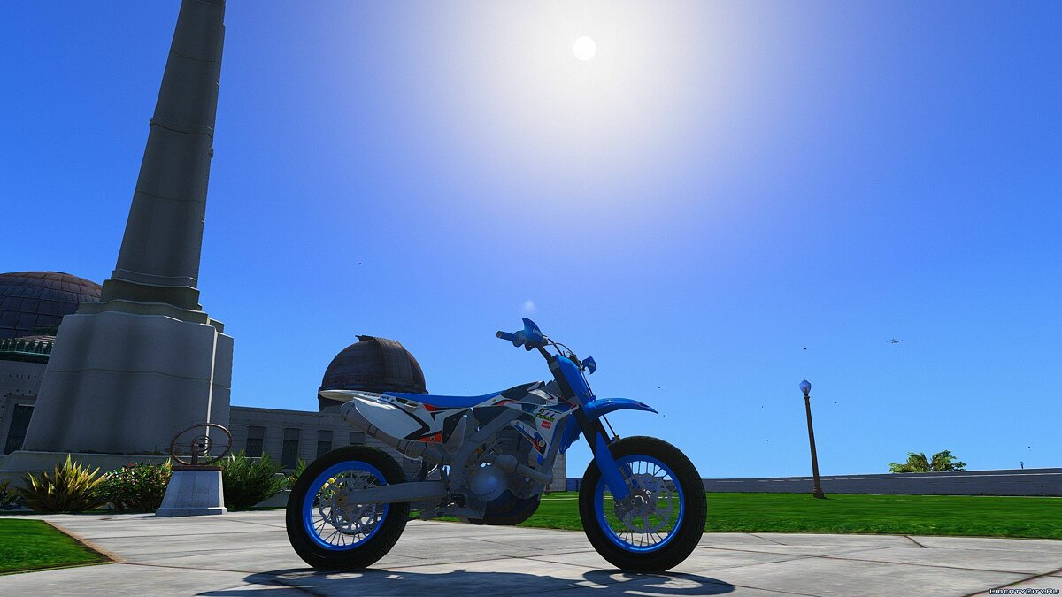 TM 450 FI - Supermoto [Add-On / Replace] для GTA 5 - скриншот #3