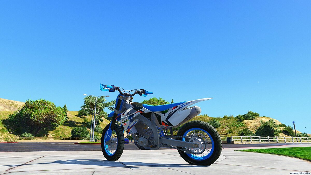 TM 450 FI - Supermoto [Add-On / Replace] для GTA 5 - скриншот #5