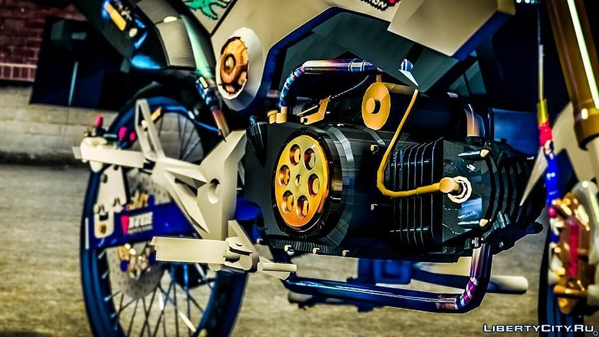 Мотоцикл Honda MSX 125 Modify 1.0 для GTA 5