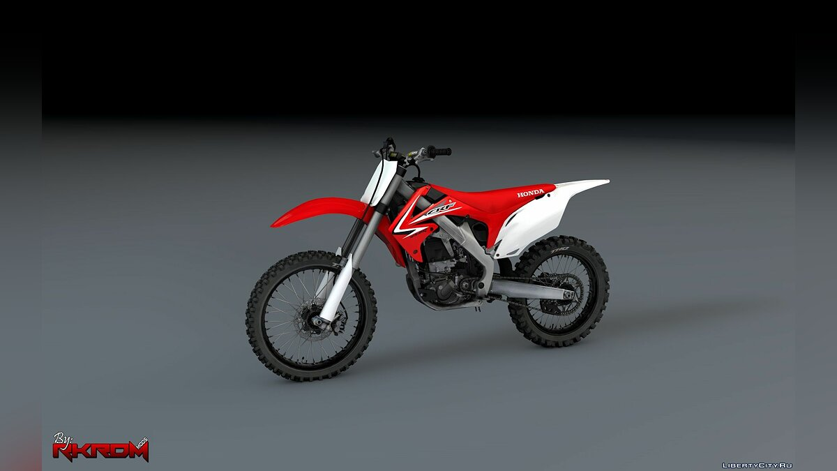 ��отоцикл 2009 Honda CRF450R 2.0 [Add-On] для GTA 5
