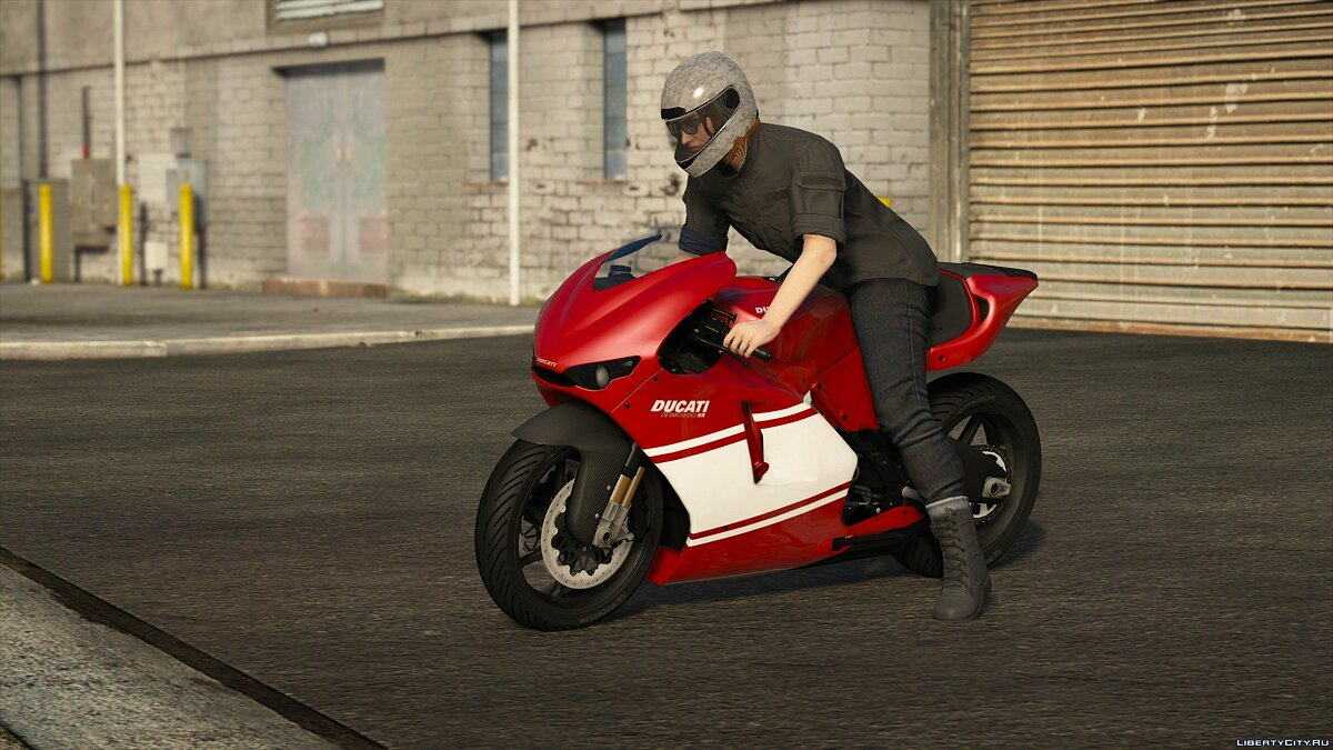 ��отоцикл 2012 Ducati Desmosedici [Add-On | Tuning | Liveries | Template] 1.0 для GTA 5