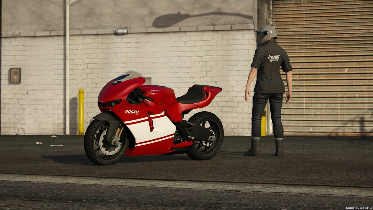 2012 Ducati Desmosedici [Add-On | Tuning | Liveries | Template] 1.0 для GTA 5 - скриншот #6