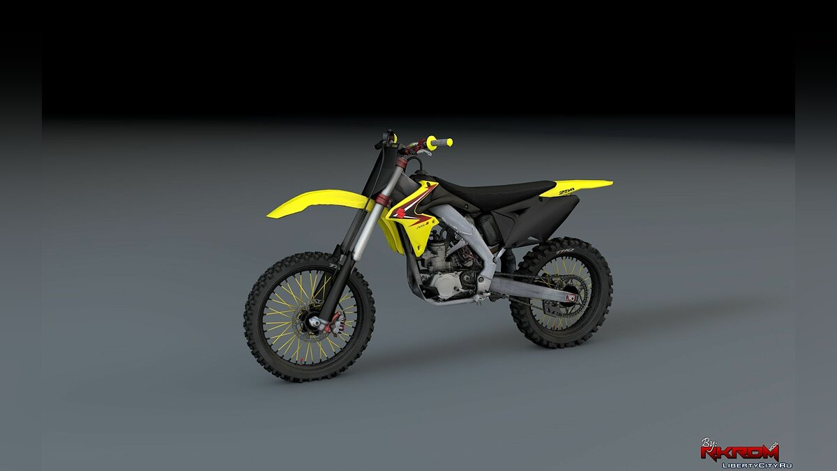 Suzuki RMZ 250 4 Stroke with Liveries [Add-On] для GTA 5