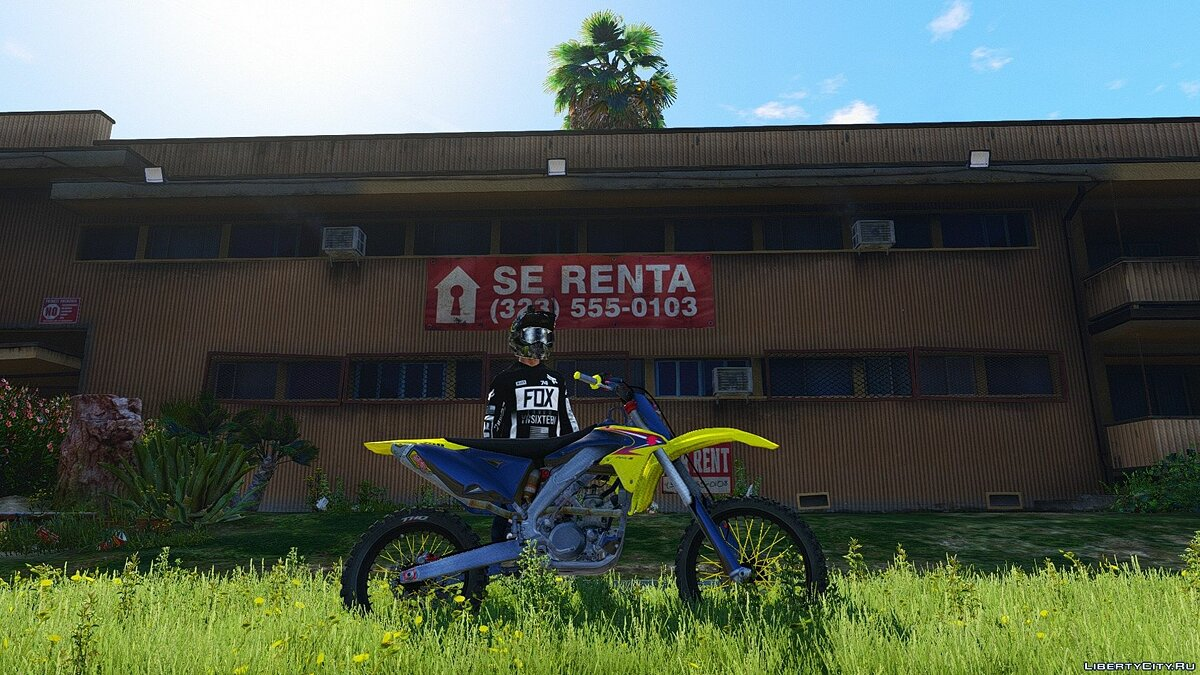 Suzuki RMZ 250 4 Stroke with Liveries [Add-On] для GTA 5 - скриншот #3