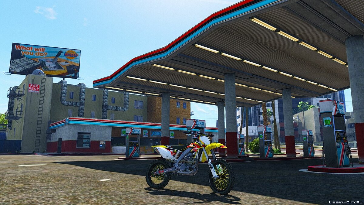 Suzuki RMZ 250 4 Stroke with Liveries [Add-On] для GTA 5 - скриншот #6