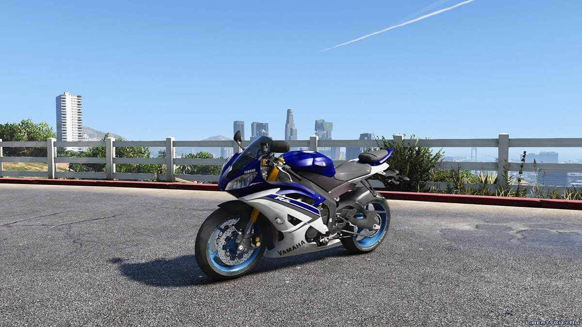 Yamaha YZF R6 2015 [Add-On / Tunable] 1.0 для GTA 5
