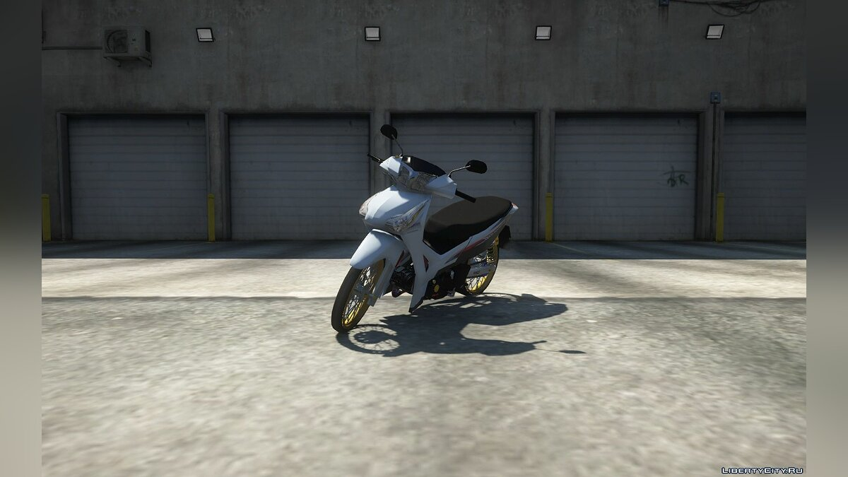 Мотоцикл Honda Wave 125i 2015 v.2 (add-on) 1.0 для GTA 5